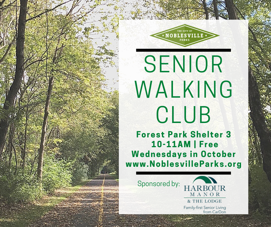 Senior Walking Club Wednesdays in Oct