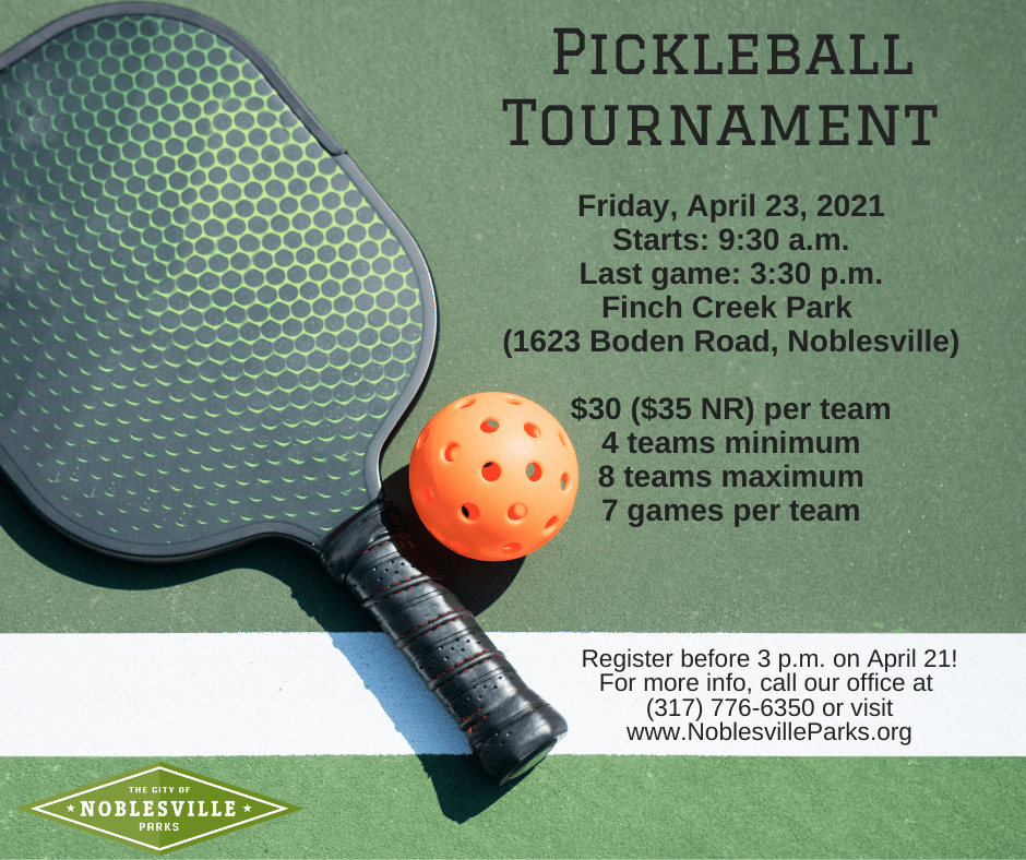 Pickleball Tournament April2021.2